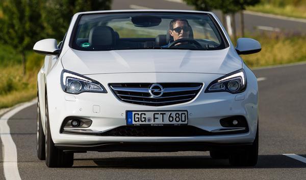 Opel Cabrio frontal