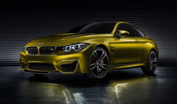 BMW Concept M4 Coupe delantera