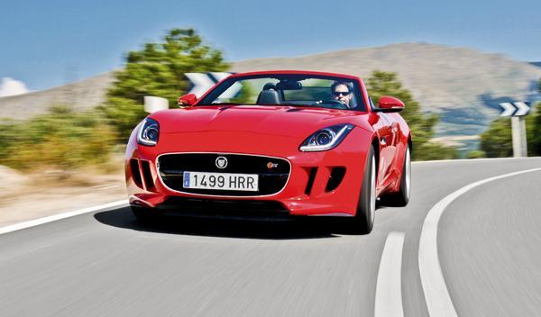 Jaguar F-Type S delantera