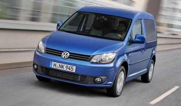 Volkswagen Caddy Bluemotion 2014 delantera