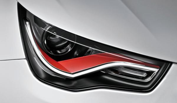 Audi S1, cazado en una carretera de Alemania