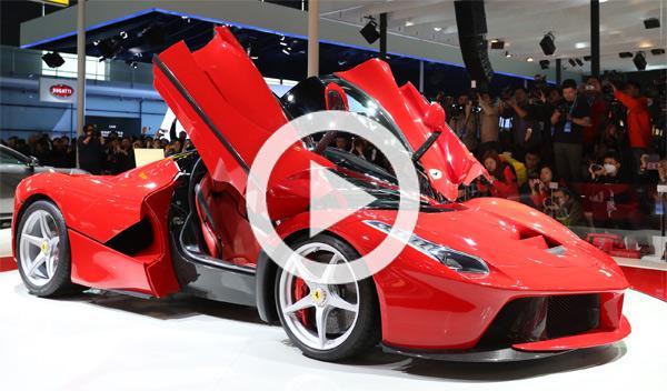 Ferrari LaFerrari se queda sin frenos en un test