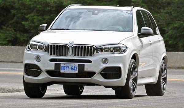 BMW X5 M50d 2014 frontal