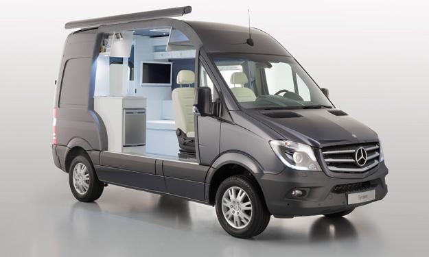 Mercedes Sprinter Caravan Concept lateral