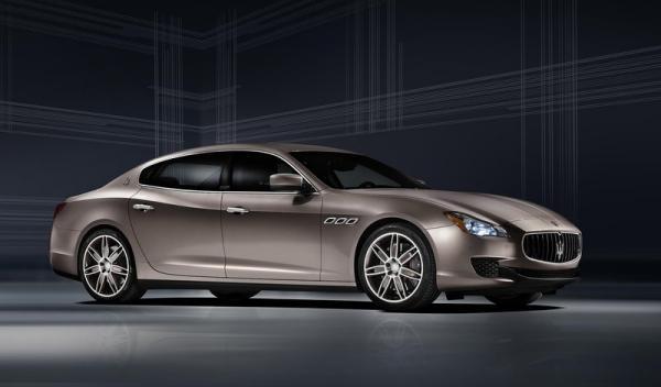 Maserati Quattroporte delantera