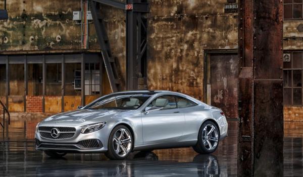 Mercedes Benz Clase S Coupé Concept Delantera