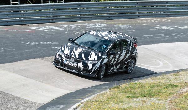 Delantera del Nuevo Honda Civic Type-R
