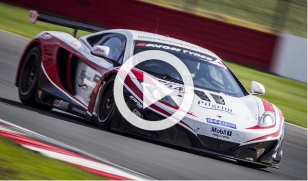Van Der Drift y su accidente con el McLaren MP4-12C GT3