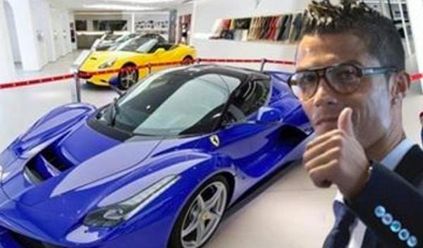 El nuevo Ferrari LaFerrari de Cristiano Ronaldo
