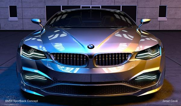 BMW Sportback Concept frontal