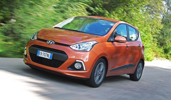 Nuevo Hyundai i10 frontal