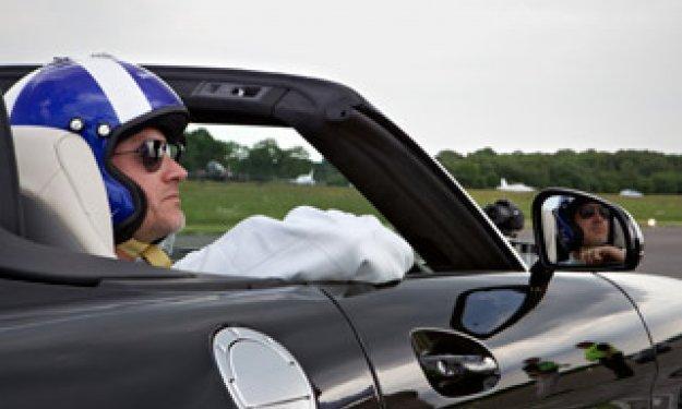Vídeo: Coulthard y Chris Harris, de carreras en Nürburgring