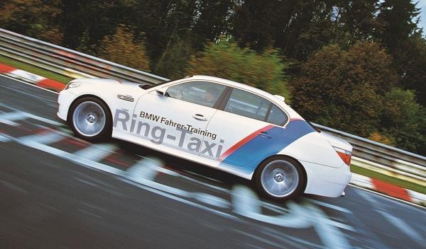 Accidente del BMW M5 Ring Taxi en Nürburgring