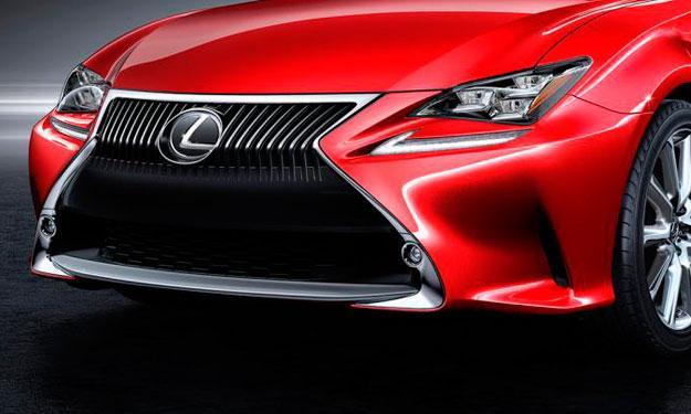 Lexus RC cabrio, primera imagen virtual