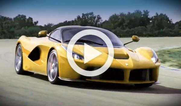 Un Ferrari LaFerrari amarillo se pasea por Mugello