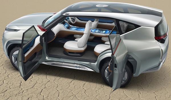 Asientos del Mitsubishi GC-PHEV Concept