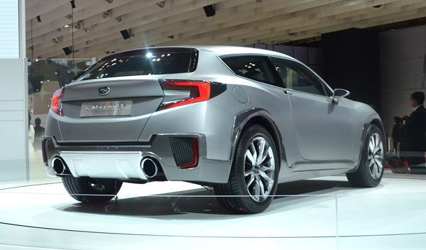 Subaru Cross Sport Design Concept zaga