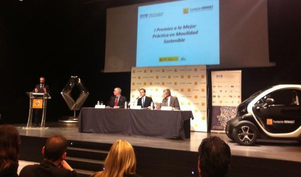 Renault premia la Mejor Práctica de Movilidad Sostenible