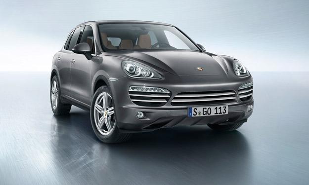 Porsche Cayenne Platinum Edition delantera