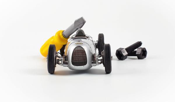 Audi Toy Service, reparación para coches de juguete