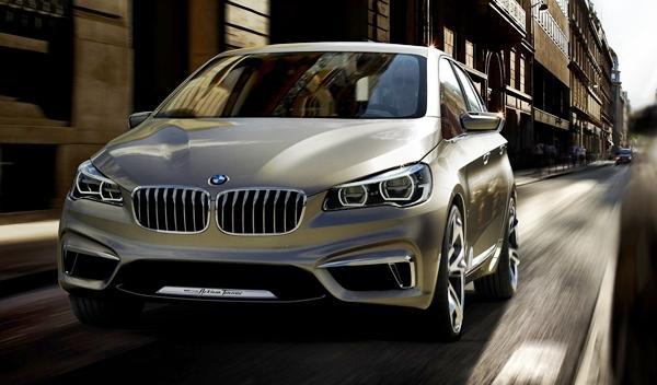 El BMW Serie 2 Active Tourer, cazado sin camuflaje