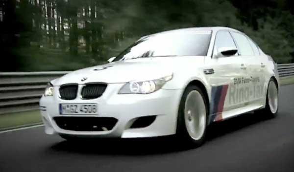 El BMW M5 Ring Taxi sufre un accidente en Nürburgring