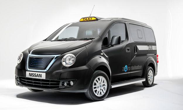 Nissan e-NV200 London Taxi delantera