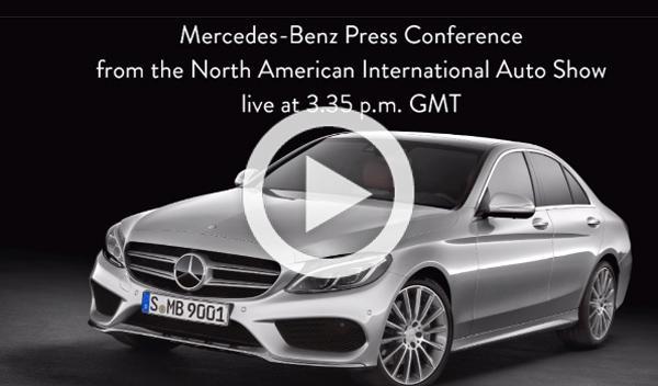 Directo: presentación de Mercedes-Benz en Detroit