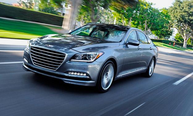 Hyundai Genesis 2014 delantera