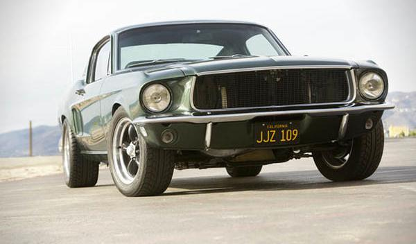 Ford Mustang Fastback Bullit delantera