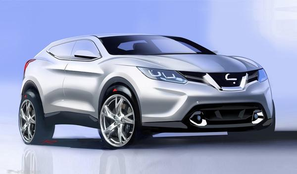Nissan Qashqai coupé: con el estilo del Range Rover Evoque