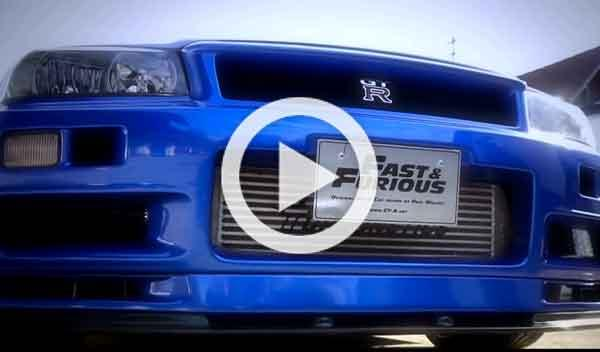 Sale a la venta el Nissan Skyline GT-R de Paul Walker