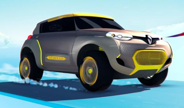 Frontal del Renault Kwid Concept