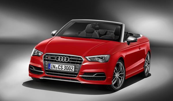 Audi S3 Cabrio frontal