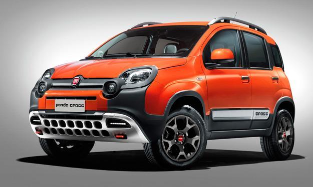 Fiat Panda Cross delantera
