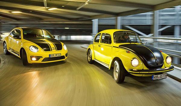Escarabajo GSR y Beetle GSR
