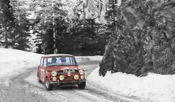 Mini Rally de Montecarlo nieve