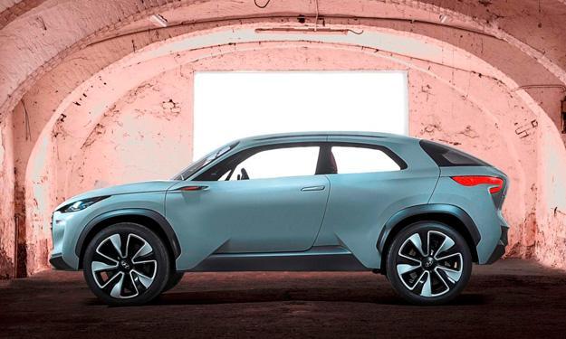 Hyundai Intrado lateral