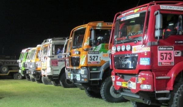 Camión del Dakar llega a Francia con 1,4 toneladas de coca