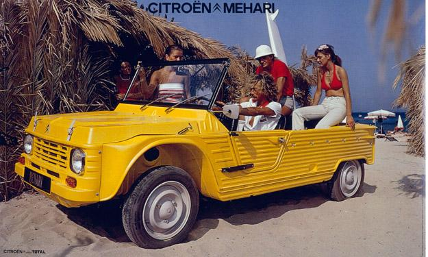 Citroën Méhari 45 aniversario mayo 1968