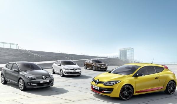 Renault Megane 2014 Gama