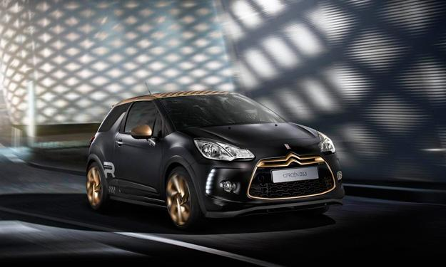 Citroën DS3 Racing Gold Mat delantera