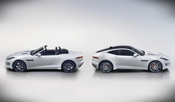 Jaguar F-Type R coupe y cabriolet