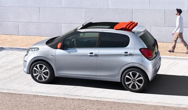 Citroën C1 2014 techo