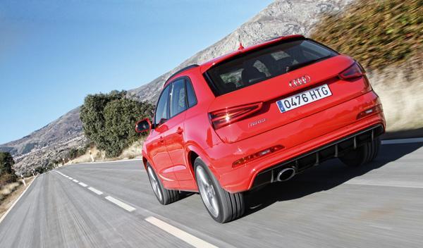 Audi RS Q3 trasera