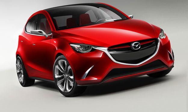 Mazda Hazumi delantera