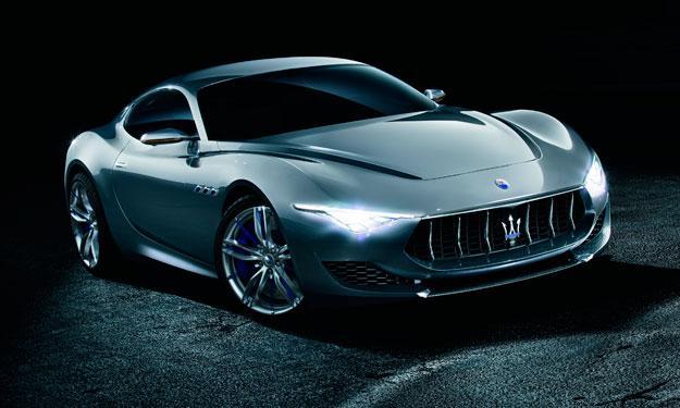 Maserati Alfieri delantera