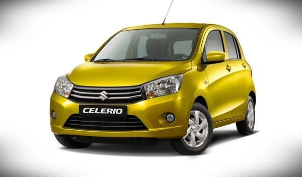 Suzuki Celerio Salón de Ginebra 2014 delantera