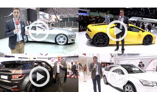 Todos los vídeos de AUTO BILD en el Salón de Ginebra 2014