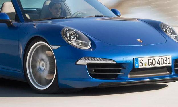 Cazado un misterioso Porsche 911 Cabrio: ¿911 Cabrio GTS?
